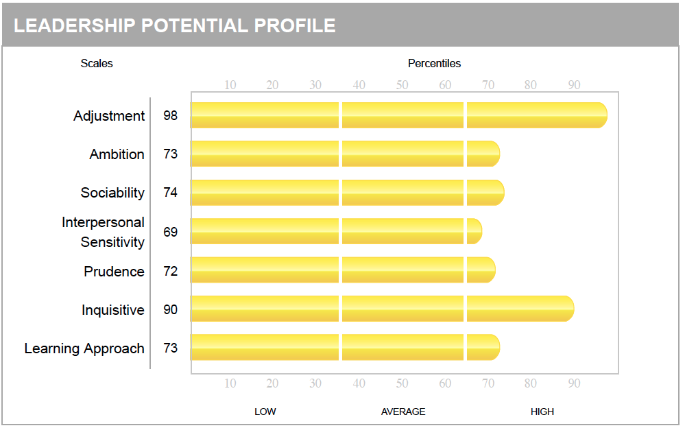 Hogan Leadership Potential Profile